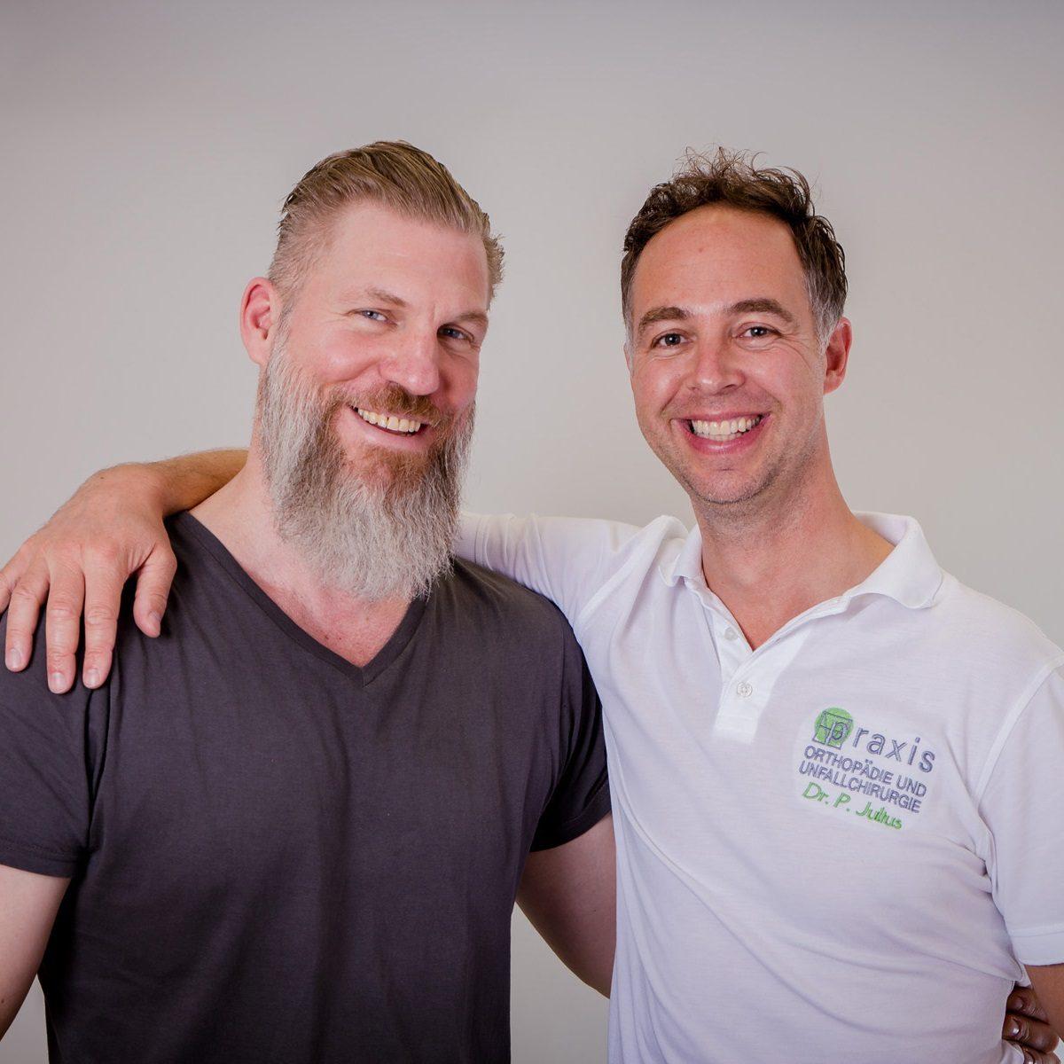 Dr. med. Matthias Manke (links) & Dr. med. Patrick Julius (rechts)